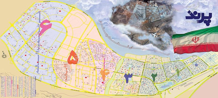 نقشه شهر جدید پرند