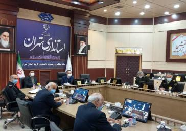 تردد بین تهران و پرند در محدودیت های کرونایی